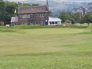 Marsden Golf Club 18th Green